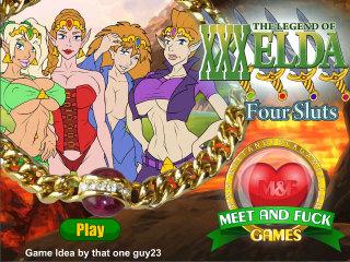 Legend of XXXelda: Four Sluts